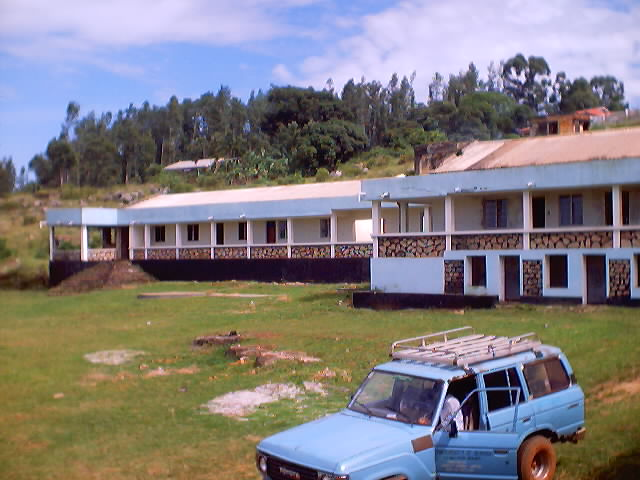 """front view of Kyanyi campus, University of Bukoba"", Bukoba, Tanzania, 2002"