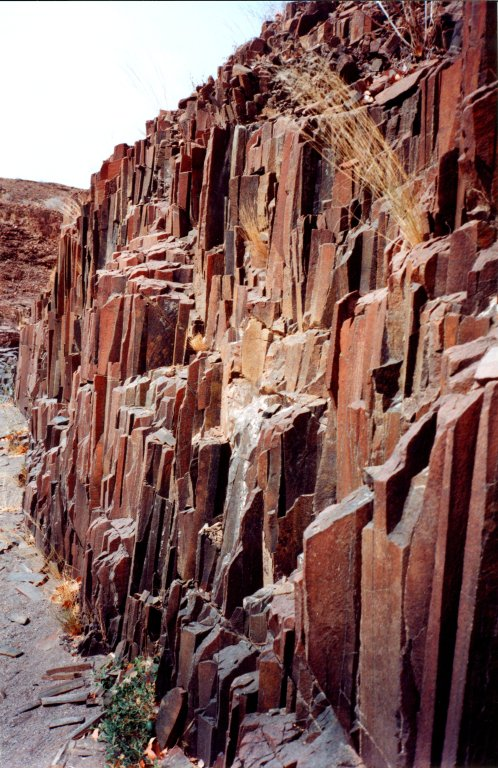 Organ Pipes, Burnt Mountain, Namibia, 1997