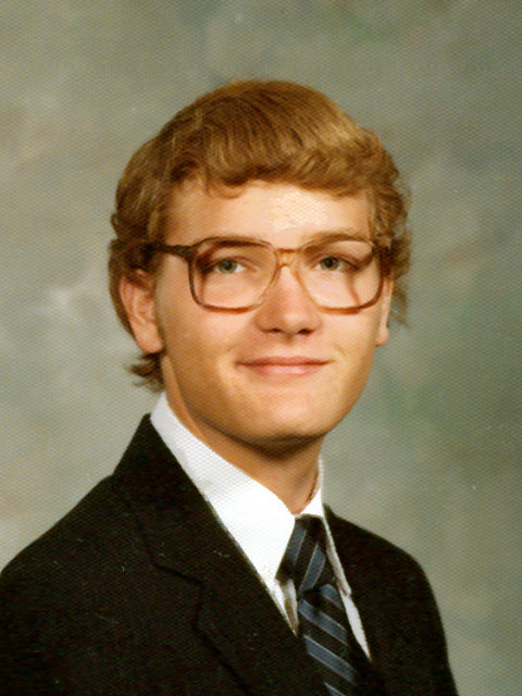 Don in high school, South Bend, Indiana, 1983