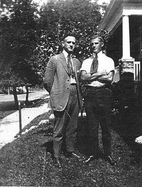 Frank and Michael Vogl, Milwaukee, Wisconsin, 1925?