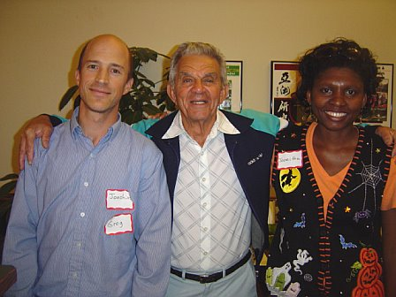 Eddie Daniels with Greg and Joanitha, Fort Collins, Colorado, 2008