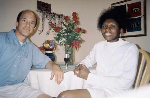 Greg and Joanitha in their apartment, Fort Collins, Colorado, 2004