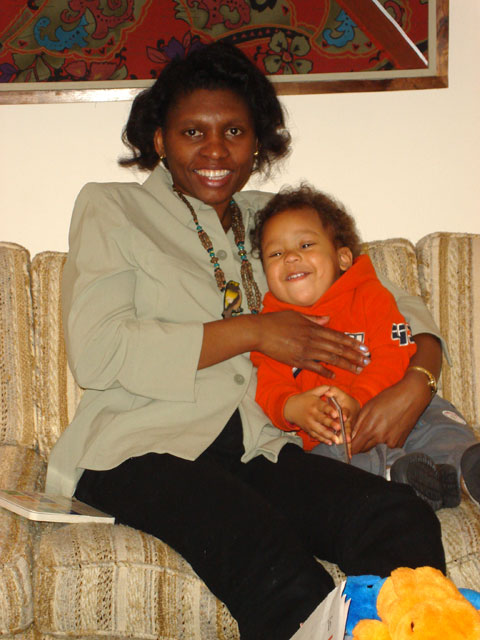 Joanitha and Joachim, Fort Collins, Colorado, 2007