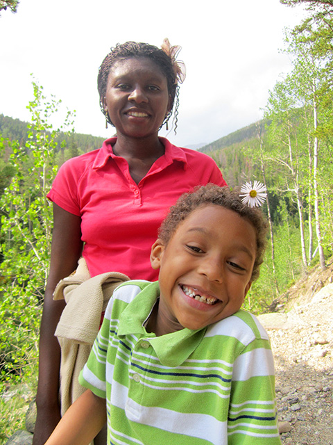Joanitha and Joachim, Rocky Mountain NP, Colorado, 2012