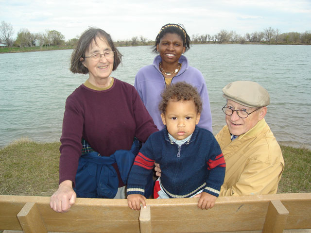 Joachim and Joanitha with Don and Colette, Fort Collins, Colorado, 2007