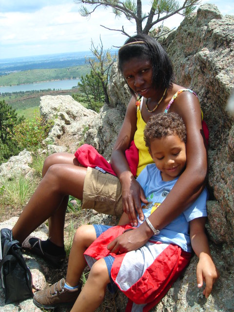 Joanitha and Joachim, Lory State Park, Colorado, 2009