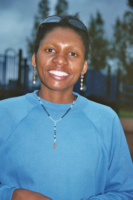 Joanitha at Rossborough Park, Fort Collins, Colorado, 2004