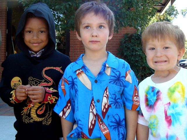 """Joachim, Carter and Dylan at the Tour de Fat"", Fort Collins, Colorado, 2009"