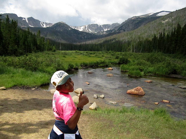 Joachim at Cirque Meadow, Pingree Park, Colorado, 2014