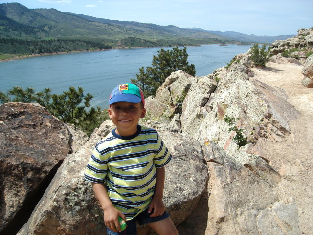 Joachim at Horsetooth Reservoir, Fort Collins, Colorado, 2009