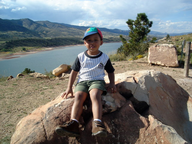 Joachim at Horsetooth Reservoir, Fort Collins, Colorado, 2008