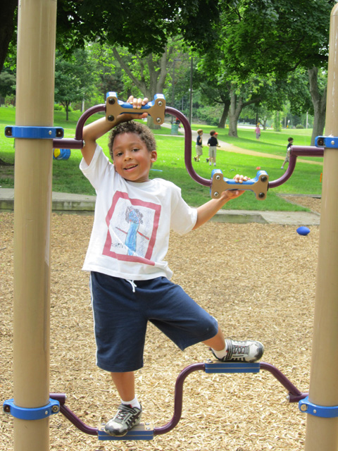 Joachim at Howard Park, South Bend, Indiana, 2011