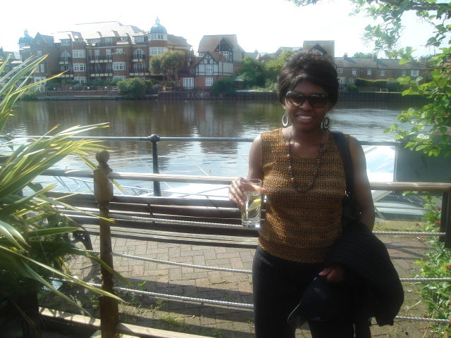 Joanitha by the River Thames, Windsor, UK, 2008