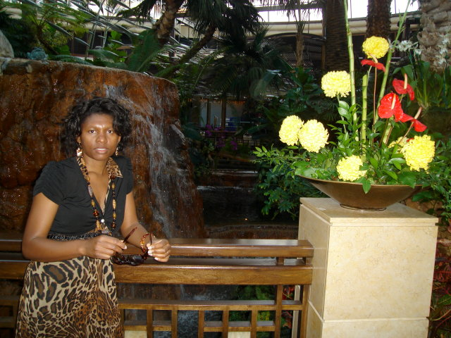 Joanitha at the Bellagio, Las Vegas, Nevada, 2009