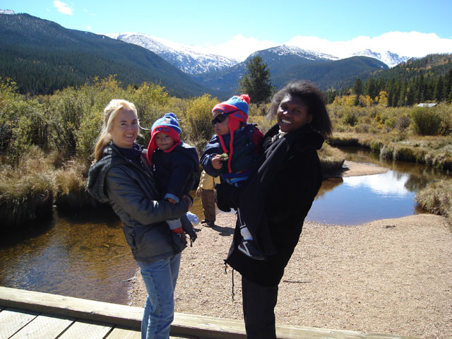 """Mary, Tariq, Joanitha, Joachim"", CSU Pingree Park, Colorado, 2006"