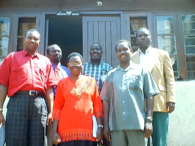 """RAS workshop participants, University of Bukoba"", Bukoba, Tanzania, 2001"