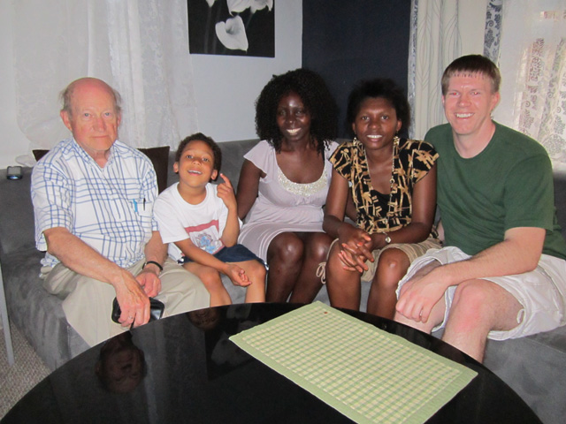"""Don, Joachim, Rachel, Joanitha and Sean"", Chicago, Illinois, 2011"