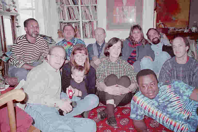 the Vogl family at Christmas, South Bend, Indiana, 1999