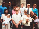 Joachim's baptism, Fort Collins, Colorado, 2005