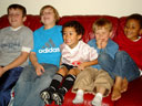 """Connor, Griffin, Tariq, Dylan, Joachim"", Fort Collins, Colorado, 2010"