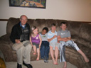 """Don, Kasey, Joachim, Griffin and Connor"", Cedar Rapids, Iowa, 2011"