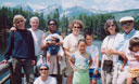 Family and friends at Sprague Lake, Fort Collins, Colorado, 2005