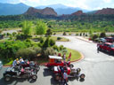 hot rods in Garden of the Gods, Colorado Springs, Colorado, 2010