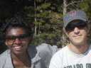 Joanitha and Greg at Sprague Lake, Rocky Mountain NP, Colorado, 2008