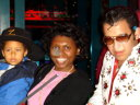 Joanitha and Joachim with Elvises, Las Vegas, Nevada, 2009