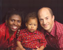 """Joanitha, Joachim, Greg"", Fort Collins, Colorado, 2006"