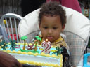 Joachim on his second birthday, Fort Collins, Colorado, 2007