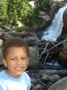 Joachim at Alberta Falls, Rocky Mountain NP, Colorado, 2008