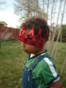Joachim with a red crown, Fort Collins, Colorado, 2008