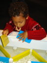 Joachim with water locks at the children's museum, Las Vegas, Nevada, 2009