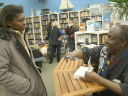 Joanitha with Ngugi wa Thiong'o, Fort Collins, Colorado, 2010