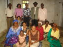 Vicent Rutatinisibwa and family at Kashenye, Bukoba, Tanzania, 2008