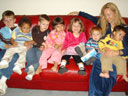 Mary and the seven cousins, Fort Collins, Colorado, 2006