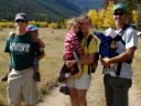 """Greg, Joachim, Filipe and family"", CSU Pingree Park, Colorado, 2008"