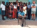 """staff, Ponhofi Senior Secondary School"", Ohangwena, Namibia, 1997"