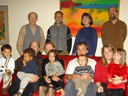 Vogl family on Thanskgiving, Fort Collins, Colorado, 2007