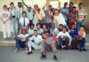 Students at Peace Corps Volunteer teacher training classes, Windhoek, Namibia, 1994