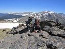 Yongli and Joachim at Rock Cut, Rocky Mountain NP, Colorado, 2011